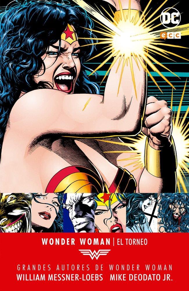 Grandes autores de Wonder Woman - William Messner-Loebs, Mike Deodato, Jr.: El torneo