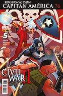 Capitán América vol. 8 (2011-) (Grapa. 17x26. 24 páginas. Color.) #76