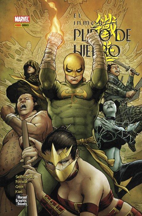 El Inmortal Puño de Hierro (2008-2011). Marvel Graphics Novels #5