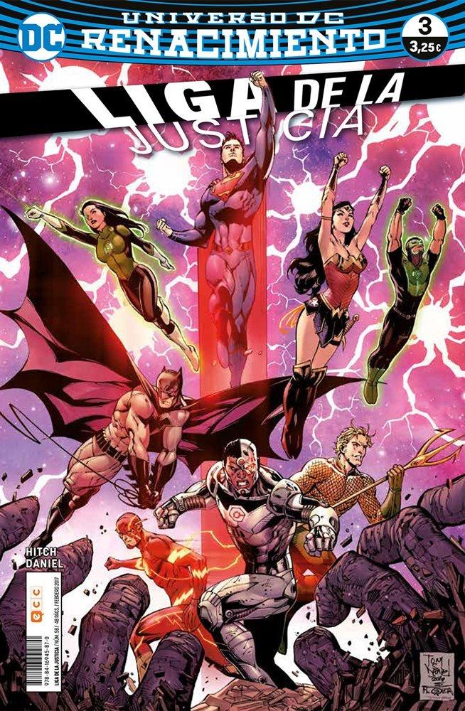 Liga de la Justicia. Nuevo Universo DC / Renacimiento #58