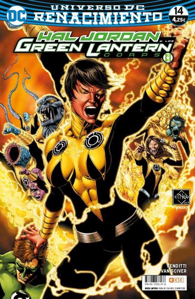 Green Lantern. Nuevo Universo DC / Hal Jordan y los Green Lantern Corps. Renacimiento #69