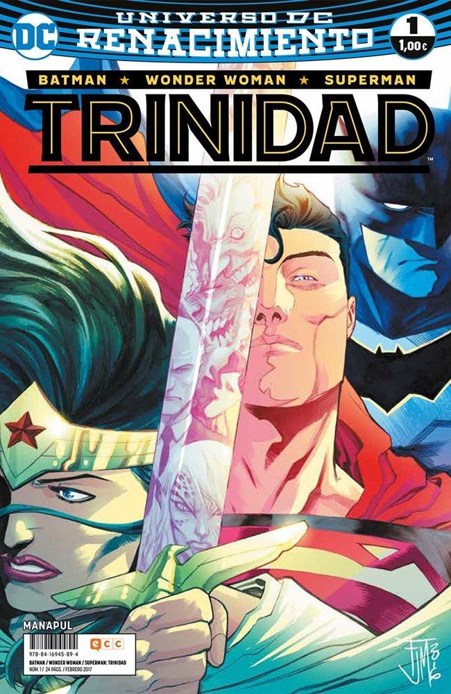 Batman / Superman / Wonder Woman: Trinidad #1