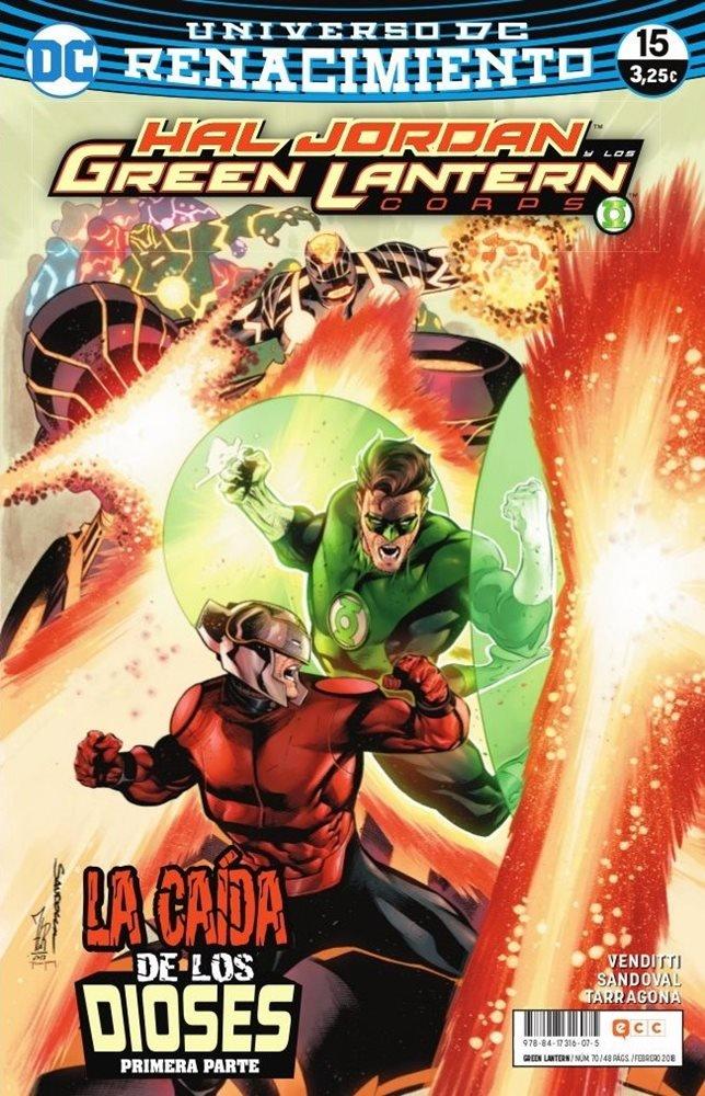 Green Lantern. Nuevo Universo DC / Hal Jordan y los Green Lantern Corps. Renacimiento #70