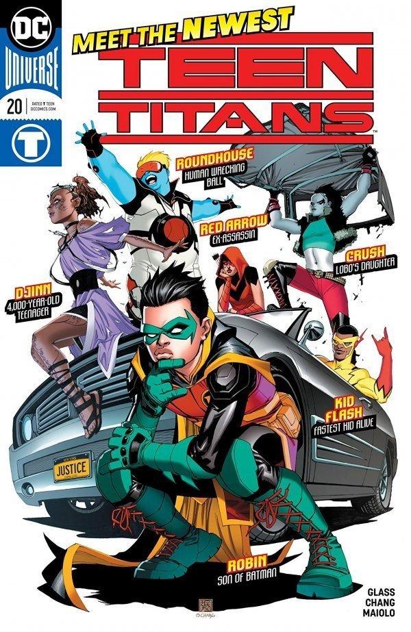 Teen titans dc comic
