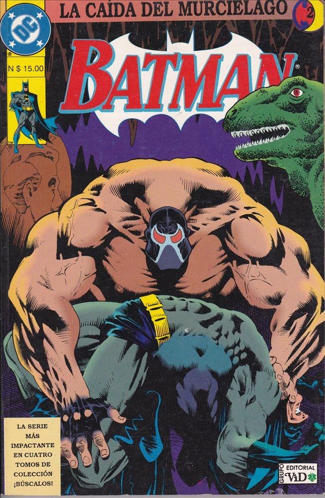 Batman. La caída del murciélago #2 (Grupo Editorial Vid)