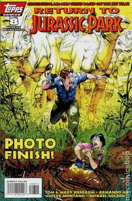 Return To Jurassic Park (Comic Book) #8