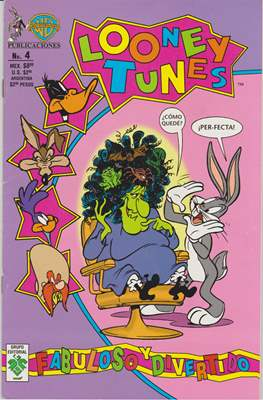 Looney Tunes (Grapa 32 pp) #4