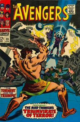 The Avengers Vol. 1 (1963-1996) (Grapa) #39