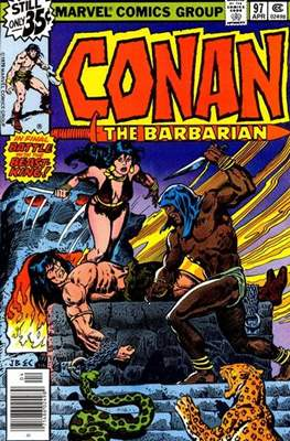 Conan The Barbarian (1970-1993) (Comic Book 32 pp) #97