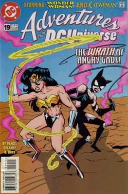Adventures in the DC Universe (comic grapa usa) #19