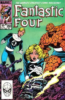 Fantastic Four Vol. 1 (1961-1996) (saddle-stitched) #260