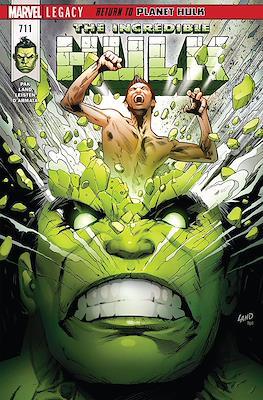 The Incredible Hulk (2017-) #711