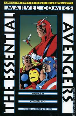 The Essential Avengers (Softcover 1st Edition) #1