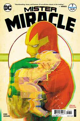 Mister Miracle (Vol. 4 2017- Variant Covers) (Comic Book) #7.1