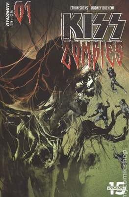Kiss Zombies (Variant Cover)