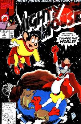 Mighty Mouse (Comic-book.) #8
