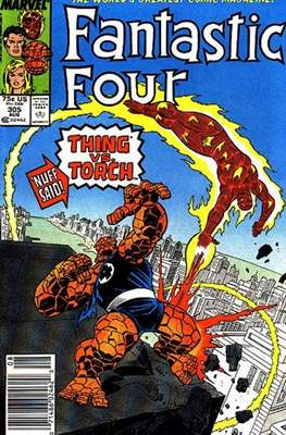 Fantastic Four Vol. 1 (1961-1996) (saddle-stitched) #305