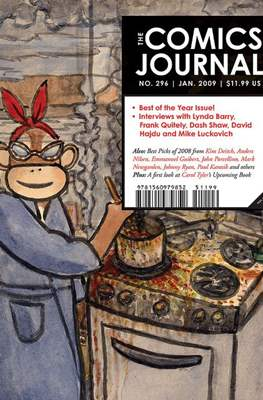 The Comics Journal (Softcover) #296