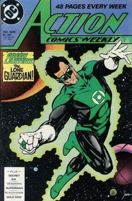 Action Comics Vol. 1 (1938-2011; 2016-) (Comic Book) #608