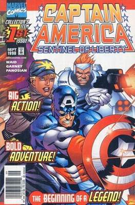 Captain America: Sentinel of liberty. Vol 1
