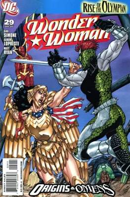 Wonder Woman Vol. 3 (2006-2011) (Comic Book) #29