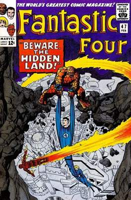 Fantastic Four Vol. 1 (1961-1996) (saddle-stitched) #47