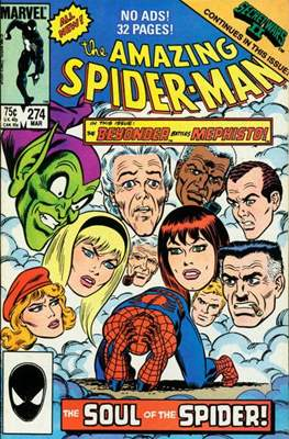 The Amazing Spider-Man Vol. 1 (1963-2007) (Comic-book) #274