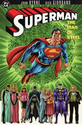 Superman: The Man of Steel (Softcover) #1