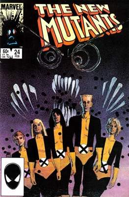 The New Mutants (Comic Book) #24