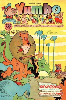 Yumbo. Semanario infantil (Grapa 20 pp) #217