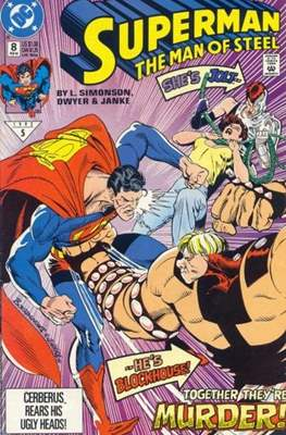 Superman: The Man of Steel (Comic book) #8