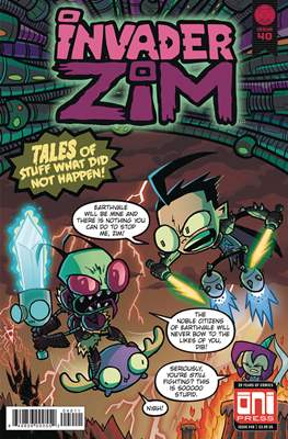 Invader Zim (Comic Book) #40