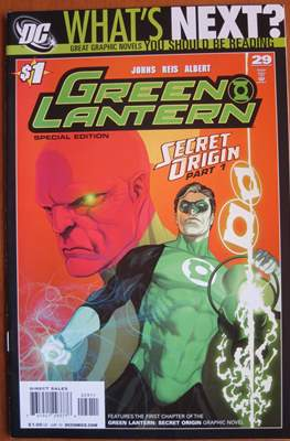 Green Lantern Vol. 4 (2005-2011 Variant Cover) #29.1
