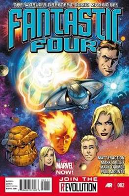 Fantastic Four Vol. 4 (Comic Book) #2