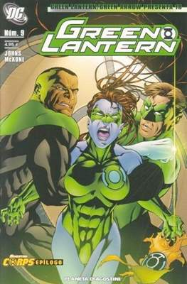 Green Lantern (2007-2008) (Grapa 48-72 pp) #9