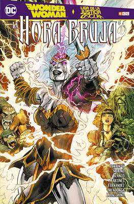 Wonder Woman / Liga de la Justicia Oscura: La hora bruja