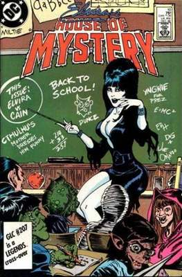 Elvira's House of Mystery #10