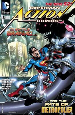 Action Comics Vol. 2 (2011-2016) (Grapa) #8