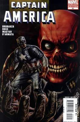 Captain America Vol. 5 (2005-2011 Variant Cover) (Comic Book) #45