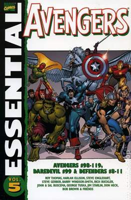 The Essential Avengers (Softcover 1st Edition) #5
