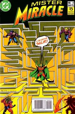 Mister Miracle (1990-1991) #4