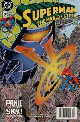 Superman: The Man of Steel #9