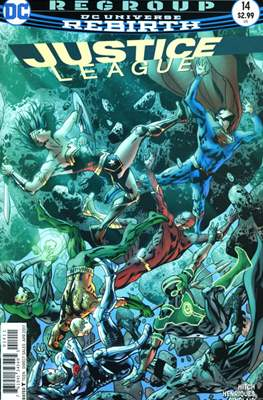 Justice League Vol. 3 (2016-2018) (Comic-book) #14