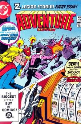 New Comics / New Adventure Comics / Adventure Comics (1935-1983; 2009-2011) (Saddle-Stitched) #496