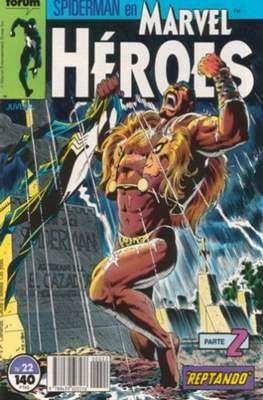 Marvel Héroes (1986-1993) (Grapa 32 pp) #22