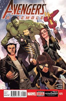 Avengers Assemble Vol. 2 (2012-2014) (Comic-Book) #25