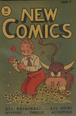 New Comics / New Adventure Comics / Adventure Comics (1935-1983 ; 2009-2011) #5