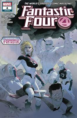 Fantastic Four Vol. 6 (2018-...) (Comic Book) #4