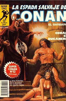Super Conan. La Espada Salvaje de Conan (Cartoné. B/N. (1982). 1ª Edición.) #12