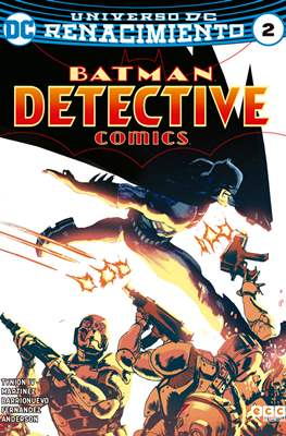 Batman: Detective Comics (Binder, 48 a 72 páginas a color. 24x17cm.) #2